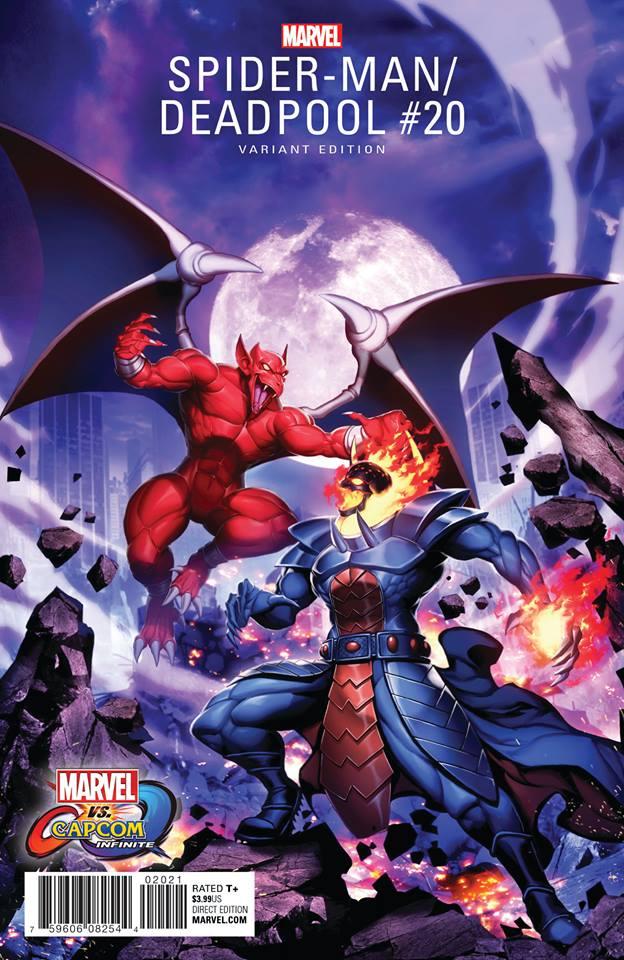 Marvel vs Capcom Infinite Dormammu Firebrand comic