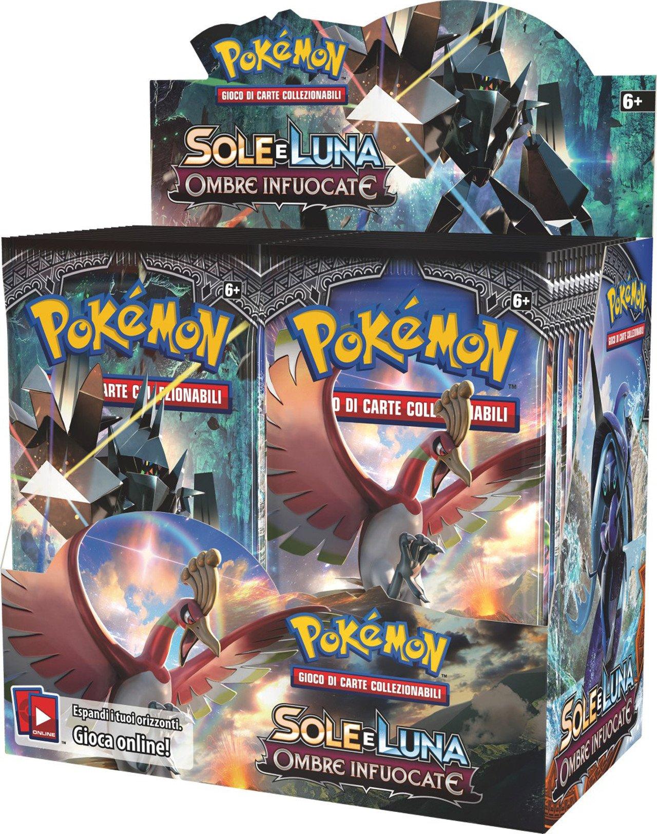 Pokémon Sole e Luna GCC, disponibile l'espansione Ombre Infuocate