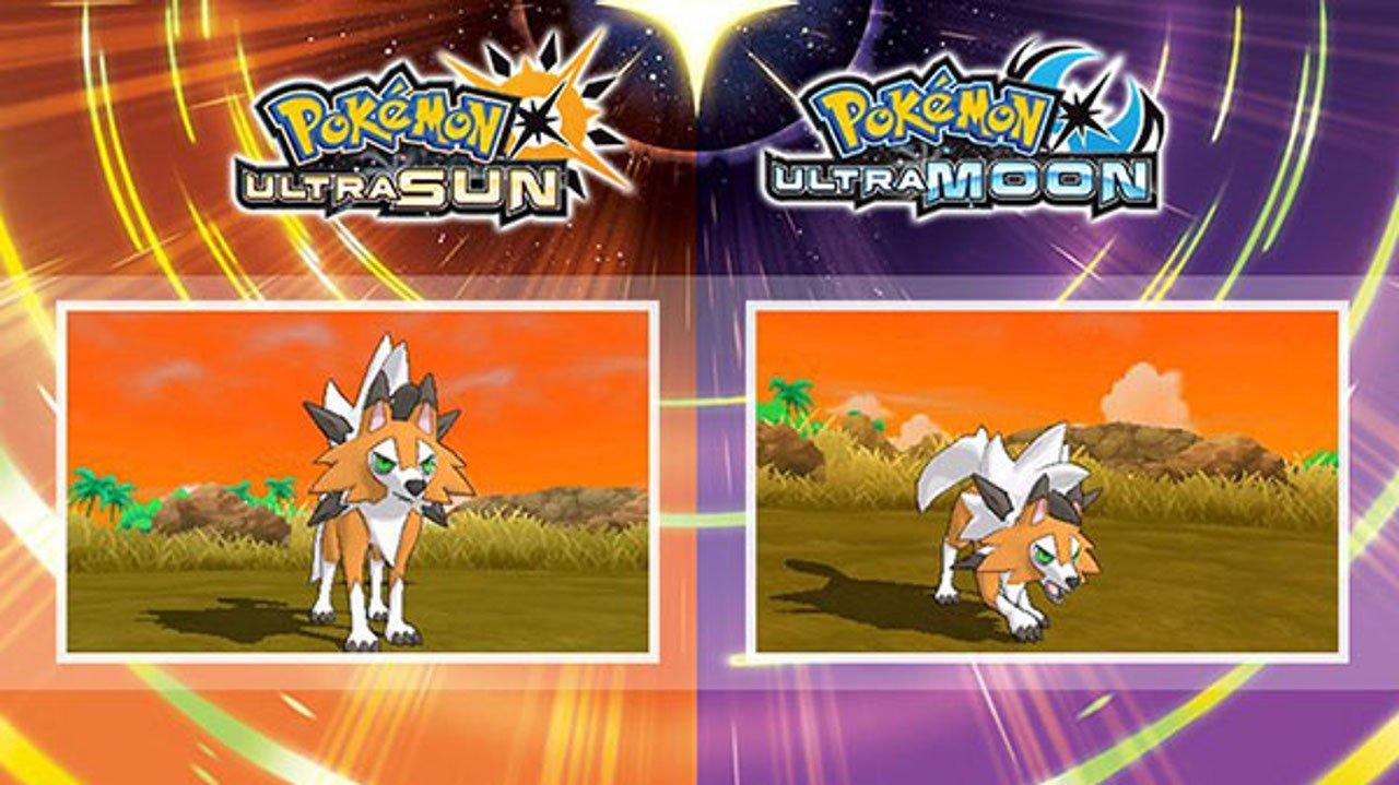 Pokémon Ultra Sole e Ultra Luna: svelata la forma Dusk di Lycanroc