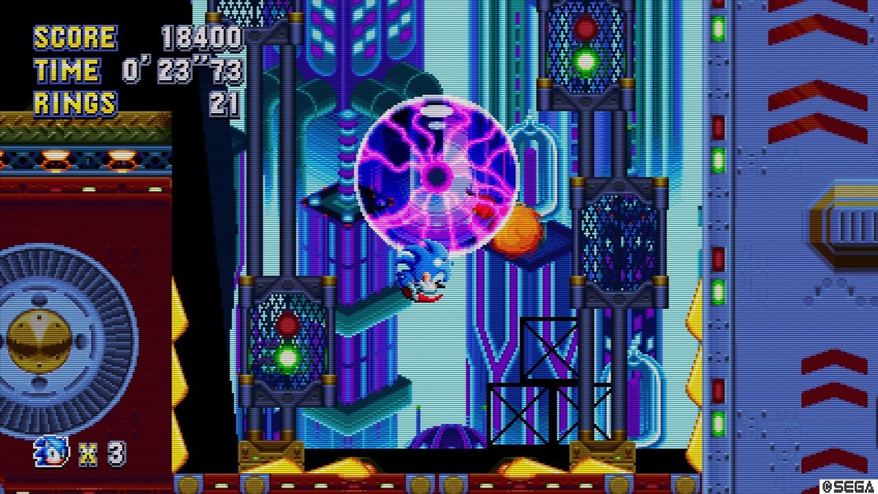 Sonic Mania immagine PC PS4 Xbox One 01