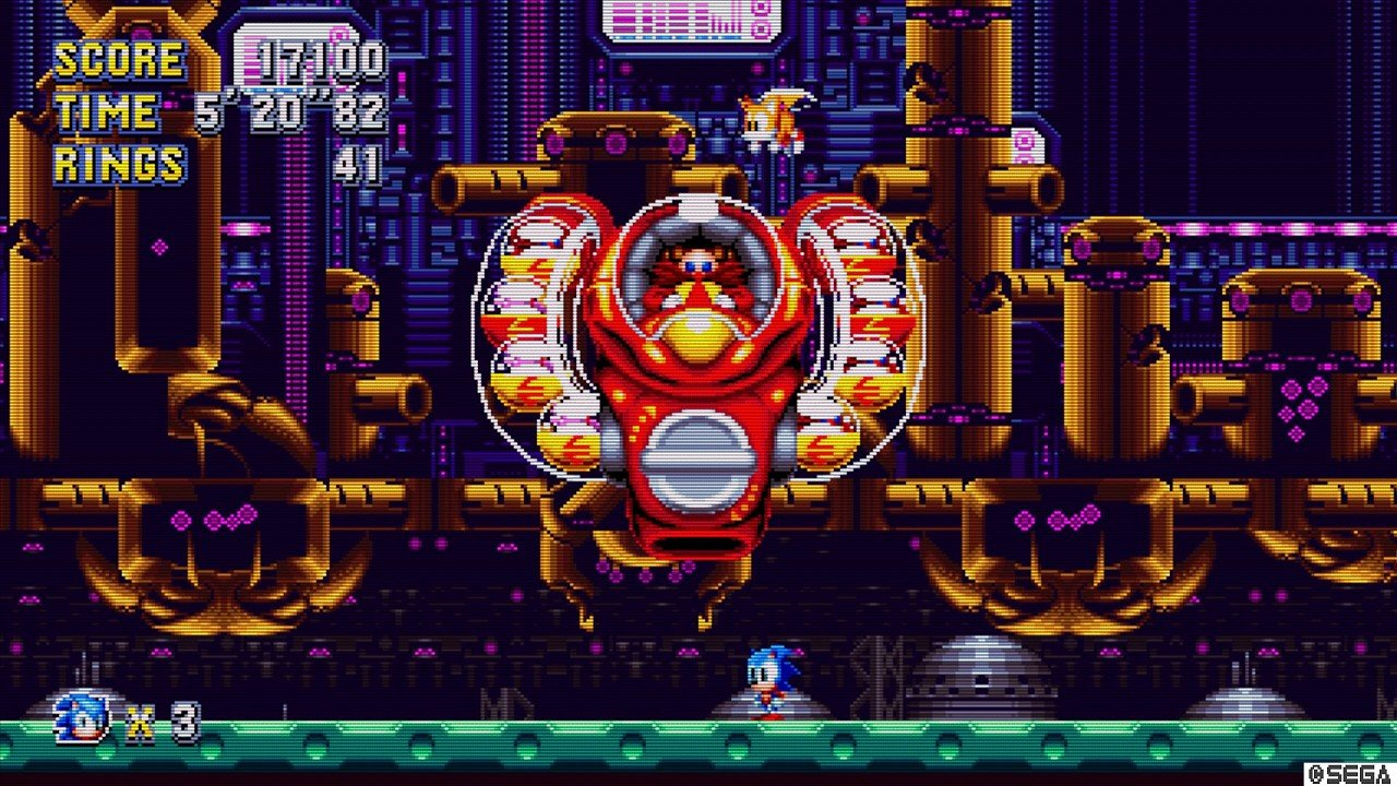 Sonic Mania immagine PC PS4 Xbox One 02