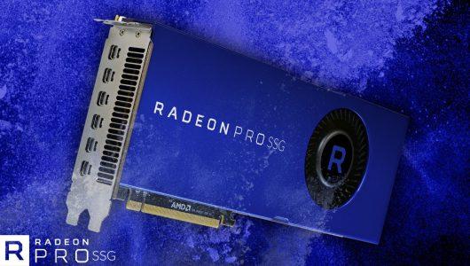 """AMD annuncia la Radeon Pro SSG e le nuove GPU """"Vega"""""""
