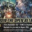 Gundam Versus: annunciato l'arrivo di un Open Beta