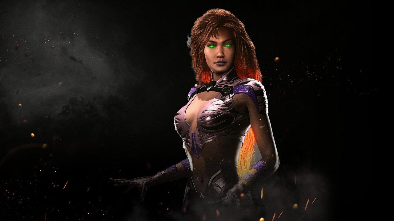Injustice 2, Starfire si aggiunge oggi alla selezione dei personaggi