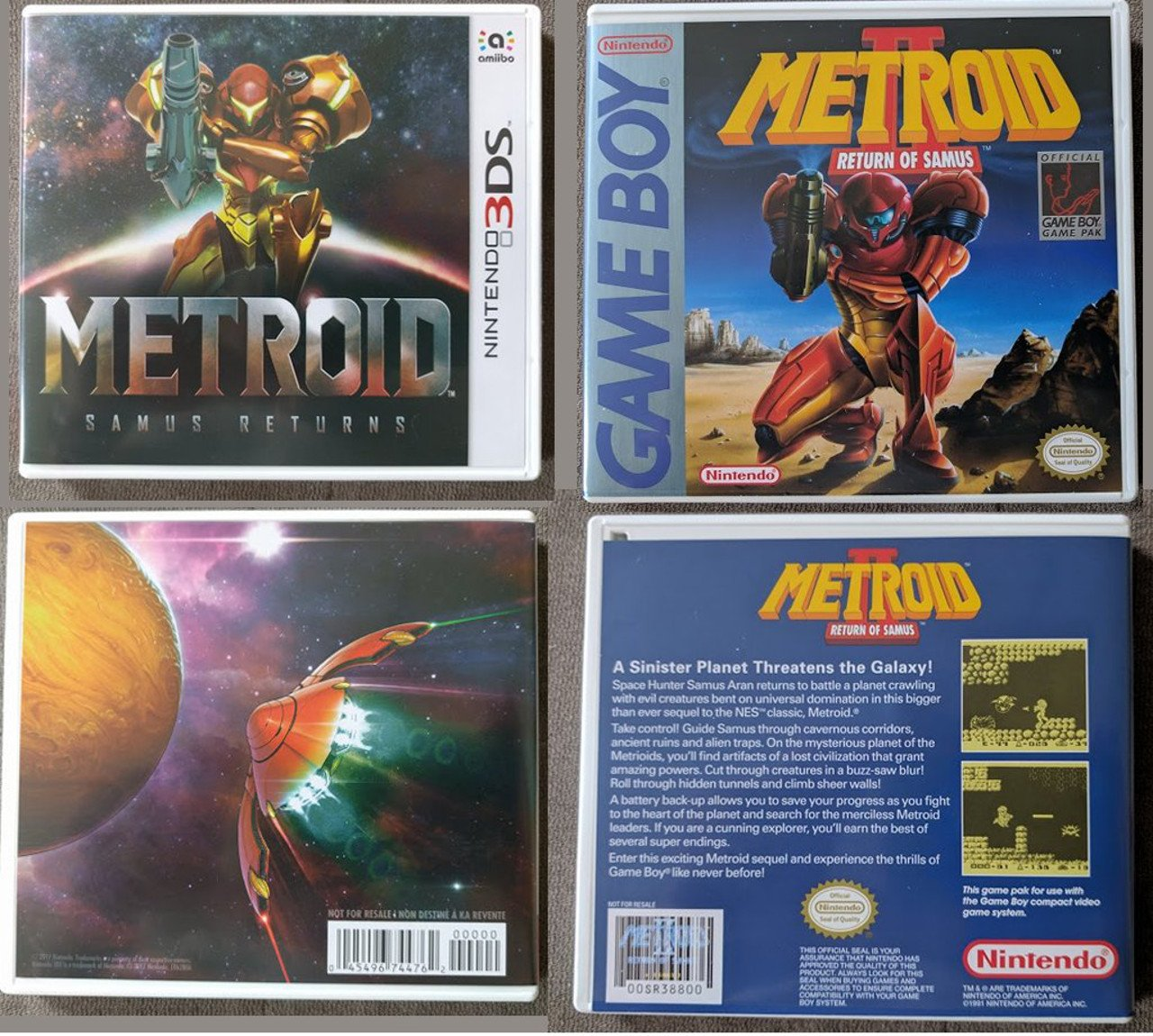 Metroid Samus Returns vanterà una copertina reversibile