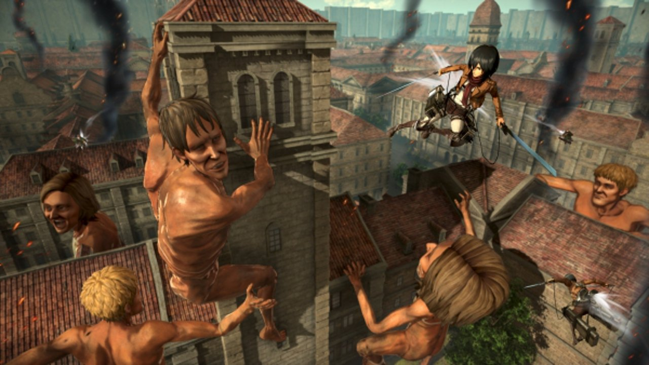 Attack on Titan 2 arriverà anche in occidente su PC, PS4, One e Switch