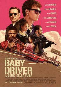 Baby Driver – Il genio della fuga immagine Cinema locandina