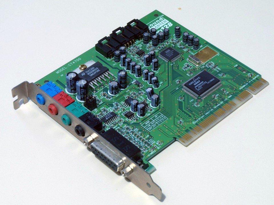 Dal buzzer al surround sb_PCI128
