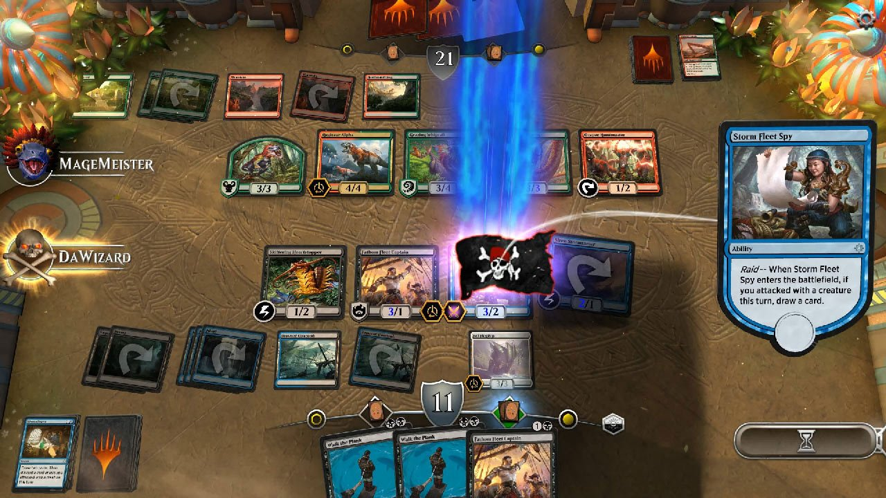 Wizards Of The Coast Presenta Magic The Gathering Arena