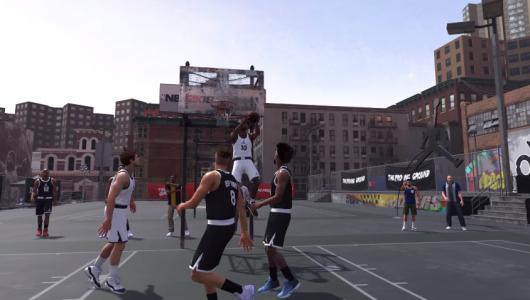 NBA 2K18 handshake trailer