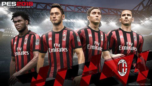 PES 2018 AC Milan Konami