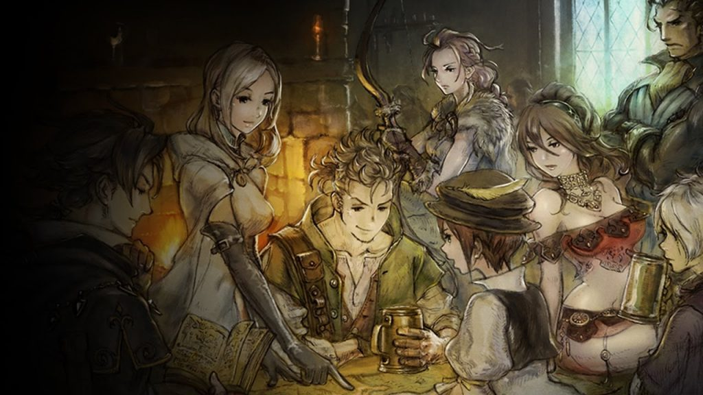 octopath traveler demo switch