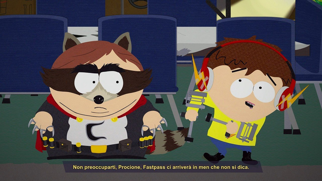 South Park cartoon sesso