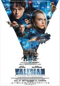 Valerian e la città dei mille pianeti immagine Cinema locandina
