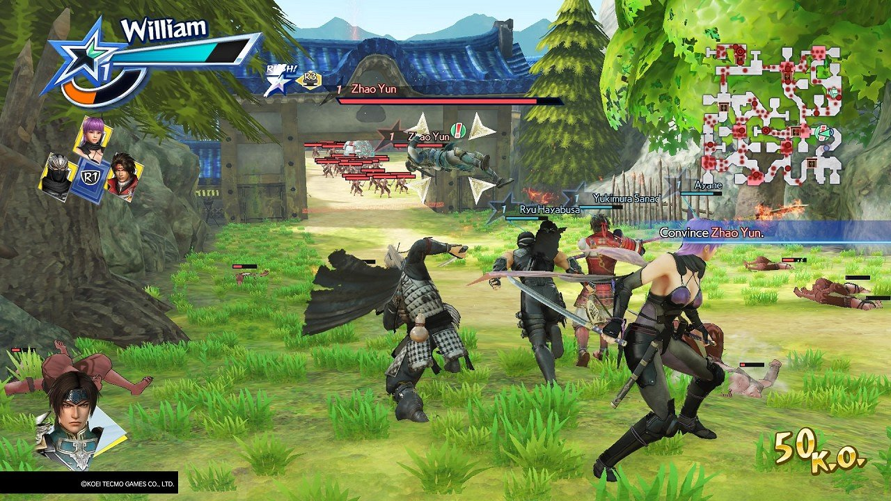 Warriors All-Stars immagine PS4 PS Vita 09