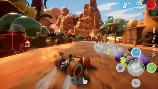 All-Star Fruit Racing è ora disponibile in Early Access su Steam