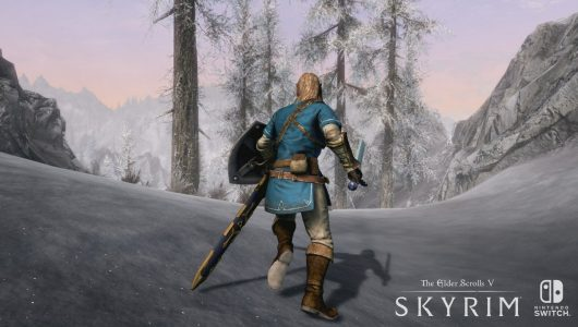 skyrim cattura video nintendo switch