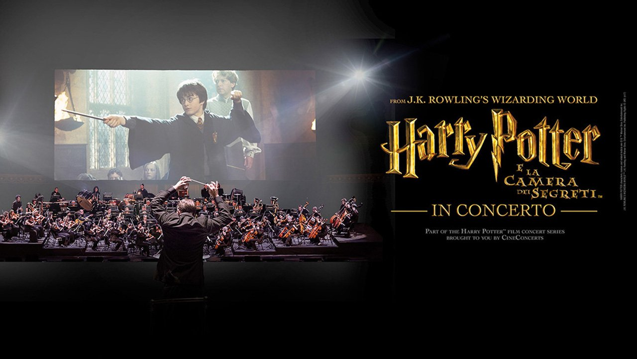 Harry Potter e la Camera dei Segreti in Concerto arriva in Italia