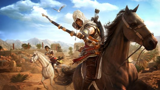 Assassin's Creed Origins prova degli dei