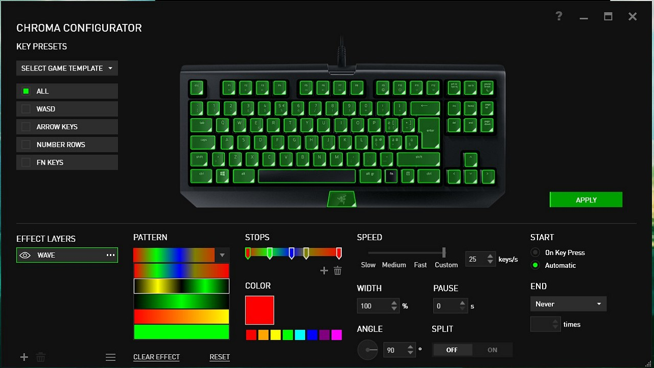 Blackwidow Tournament Edition Chroma V2 immagine 03