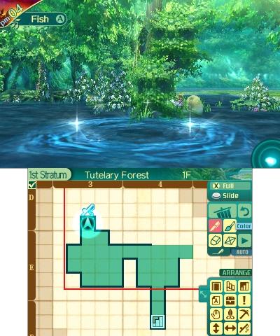 Etrian Odyssey V Beyond the Myth immagine 3DS 06