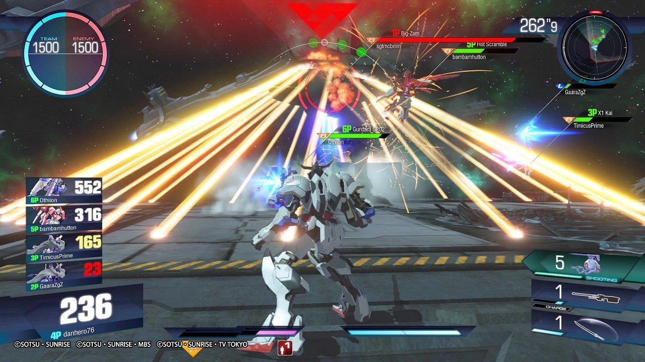 Gundam Versus immagine PS4 11