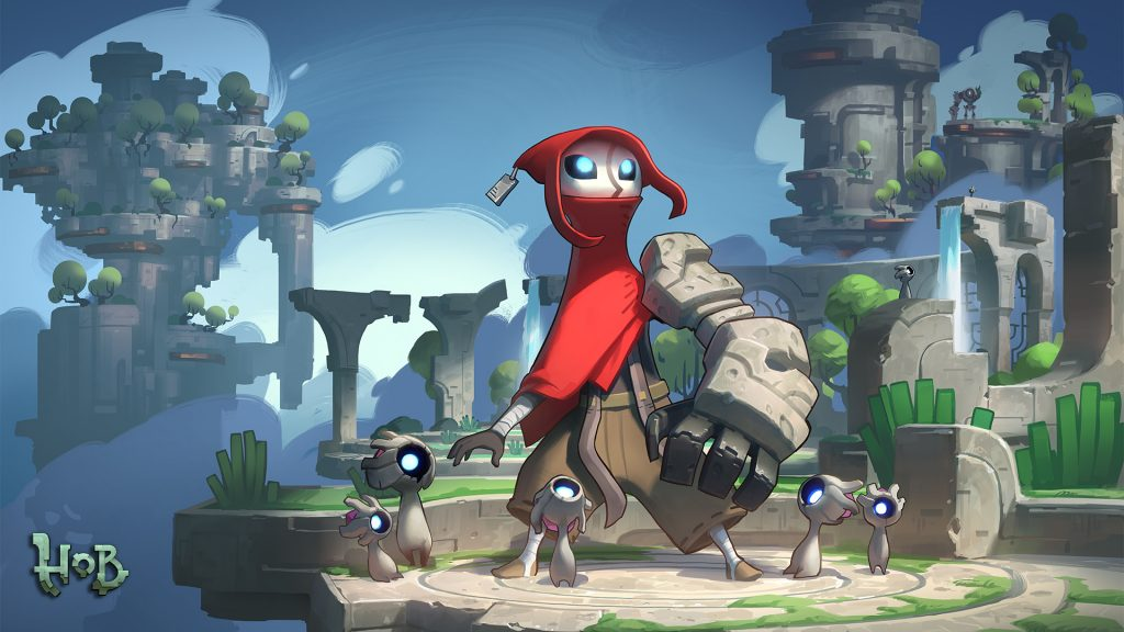 runic games Hob PC PS4 immagini slider