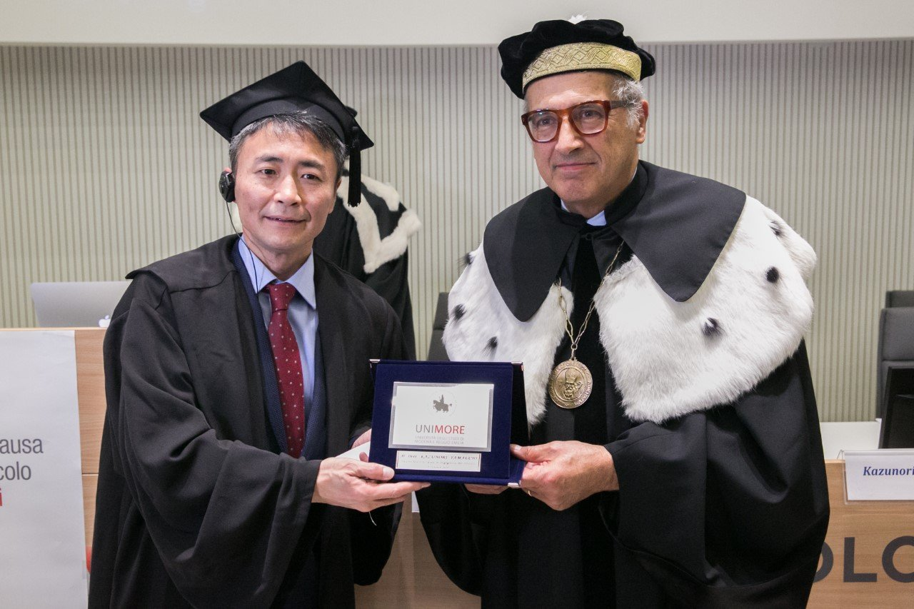 Kazunori Yamauchi, creatore di Gran Turismo, riceve la Laurea Honoris