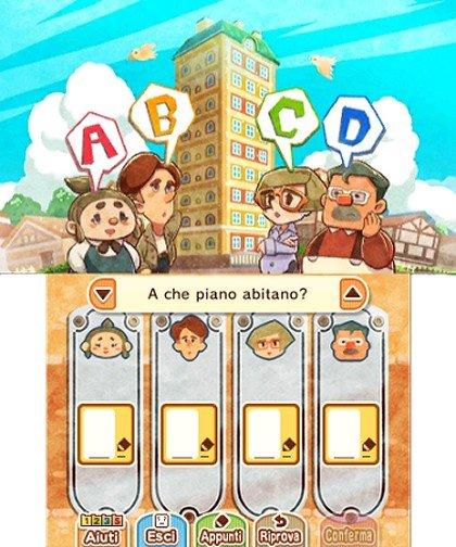 Layton's Mystery Journey Katrielle e il Complotto dei Milionari immagine 3DS 10