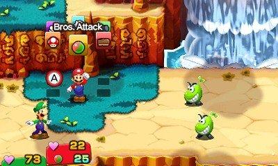 Mario & Luigi Superstar Saga + Scagnozzi di Bowser immagine 3DS 11