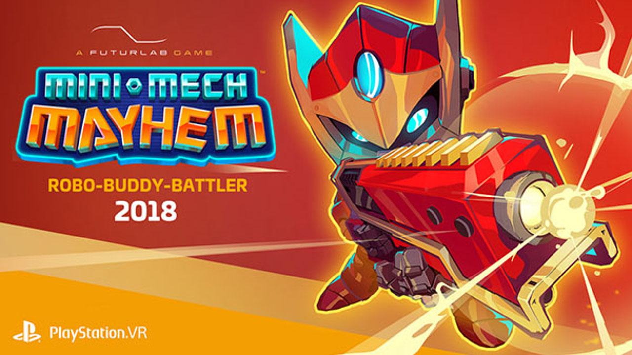 FuturLab annuncia Mini-Mech Mayhem per PlayStation VR