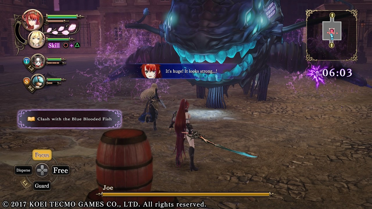 Nights of Azure 2 Bride of the New Moon immagine PS4 PS Vita 17