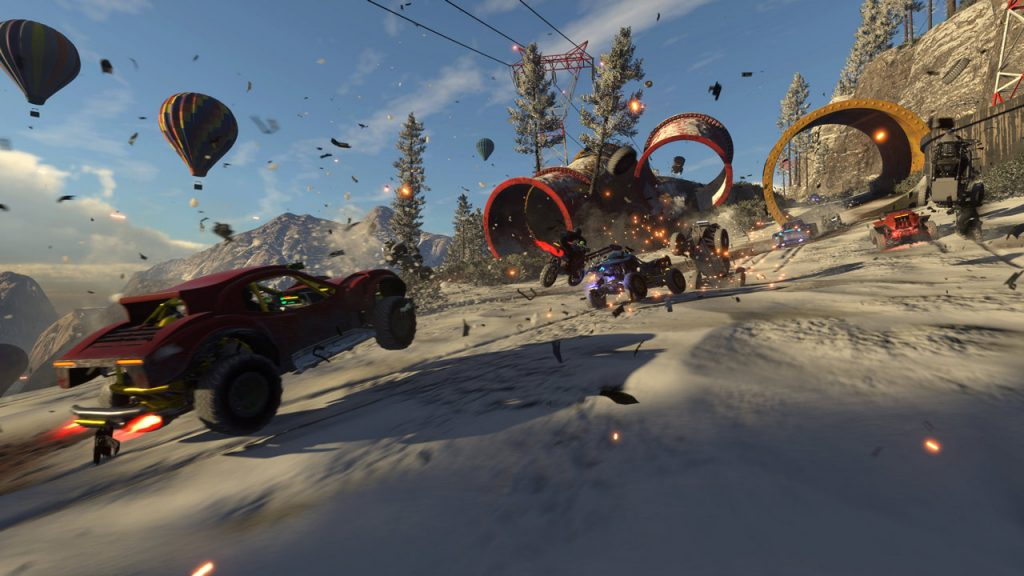 Onrush data uscita PS4 Xbox One