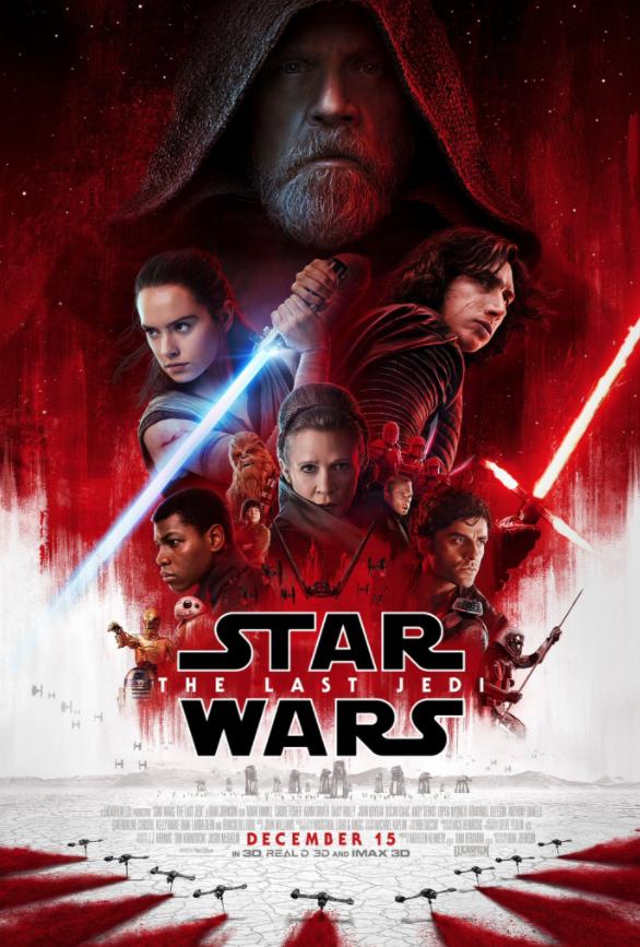 Star Wars Gli Ultimi Jedi locandina