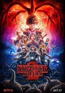 Strangers Things seconda stagione immagine Netflix locandina