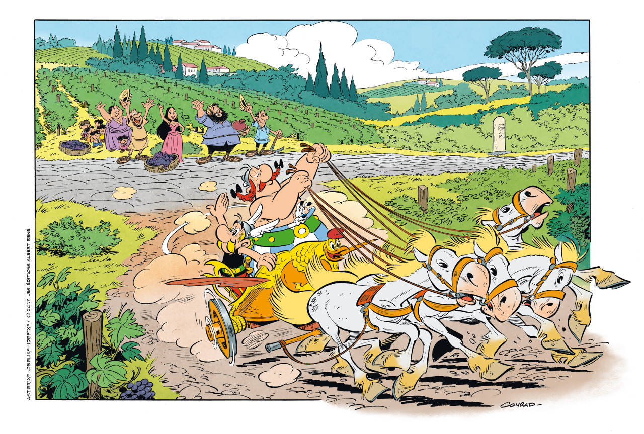 Asterix and Friends: un nuovo aggiornamento introduce le bighe