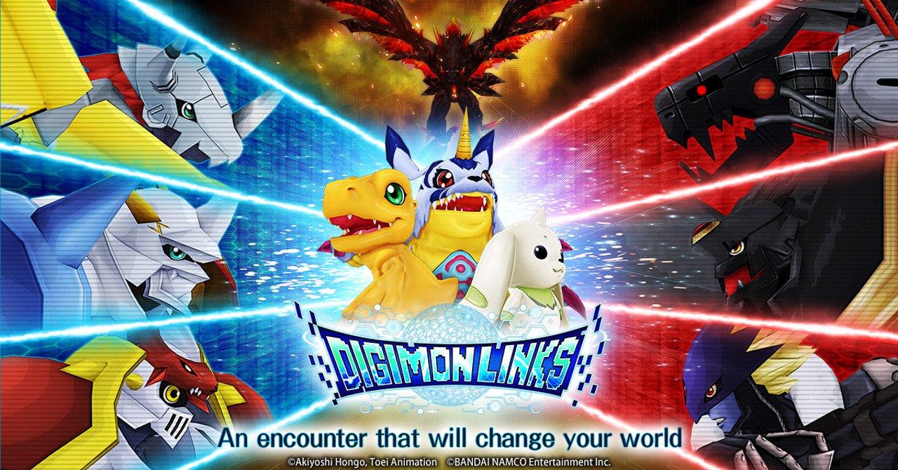 Digimon Links è ora disponibile su App Store e Google Play