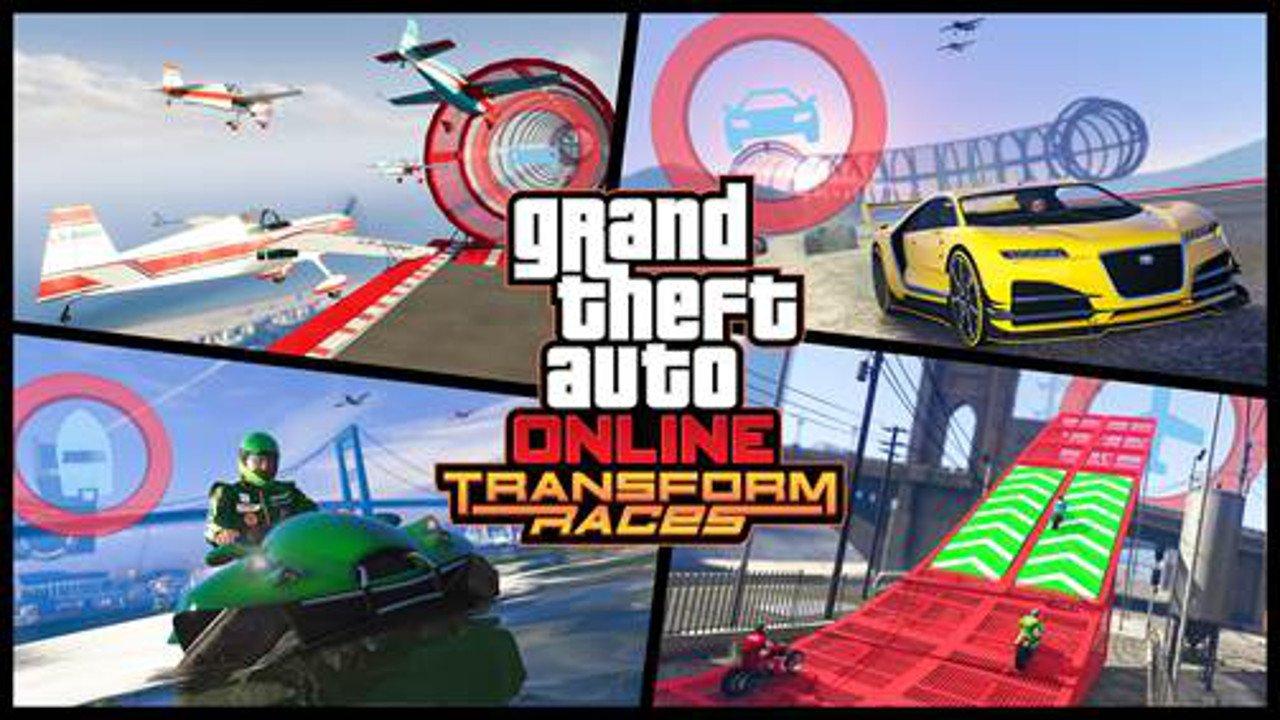 GTA Online: disponibili oggi le Gare Multiveicolo