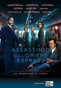 Assassinio sull'Orient Express immagine Cinema locandina