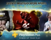Sony annuncia l'evento Open Multiplayer di PlayStation Plus