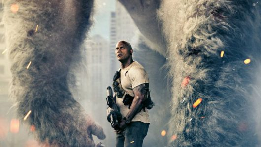 Rampage trailer film dwayne johnson