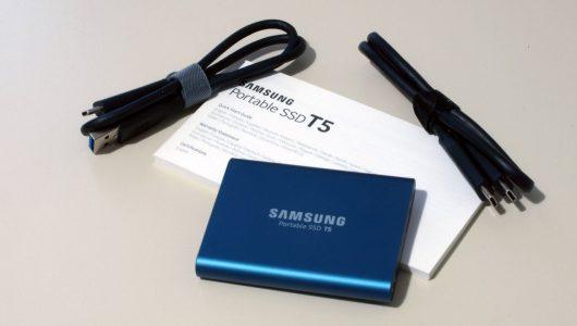 Samsung Portable SSD T5 500 GB immagine 02