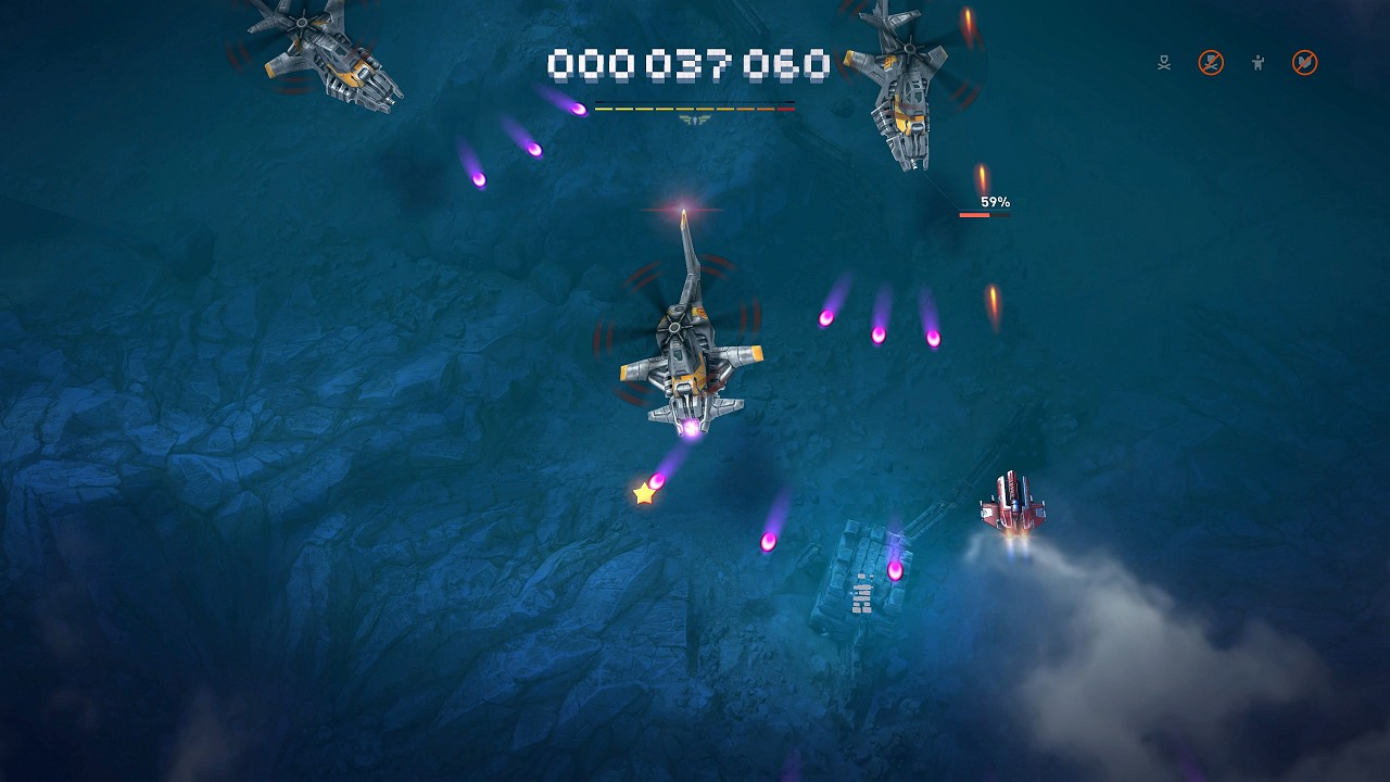 Sky Force Reloaded immagine PC Android iOS 03