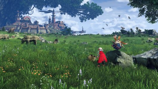 xenoblade chronicles 2 video musicale