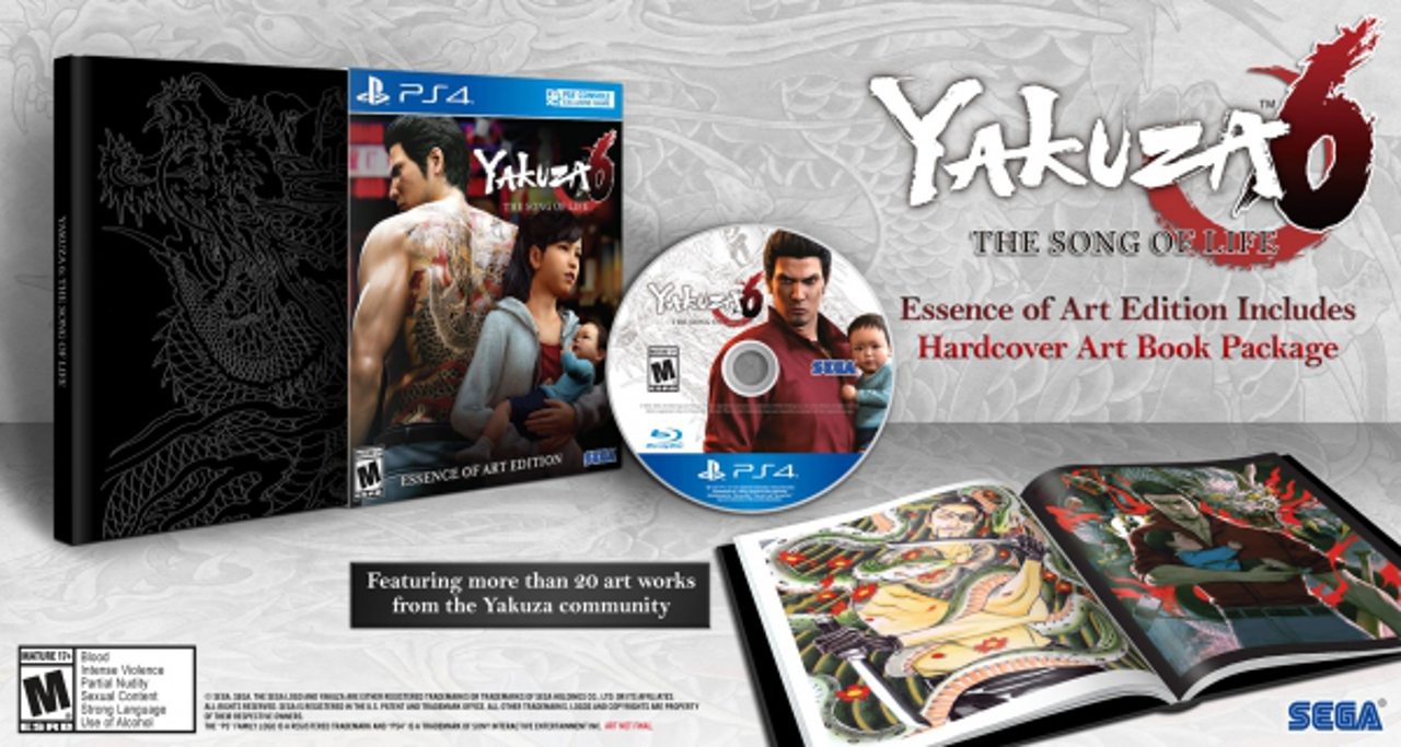 """Yakuza 6: pubblicato il trailer """"Previously on Yakuza..."""", svelata la box art della Launch Edition"""
