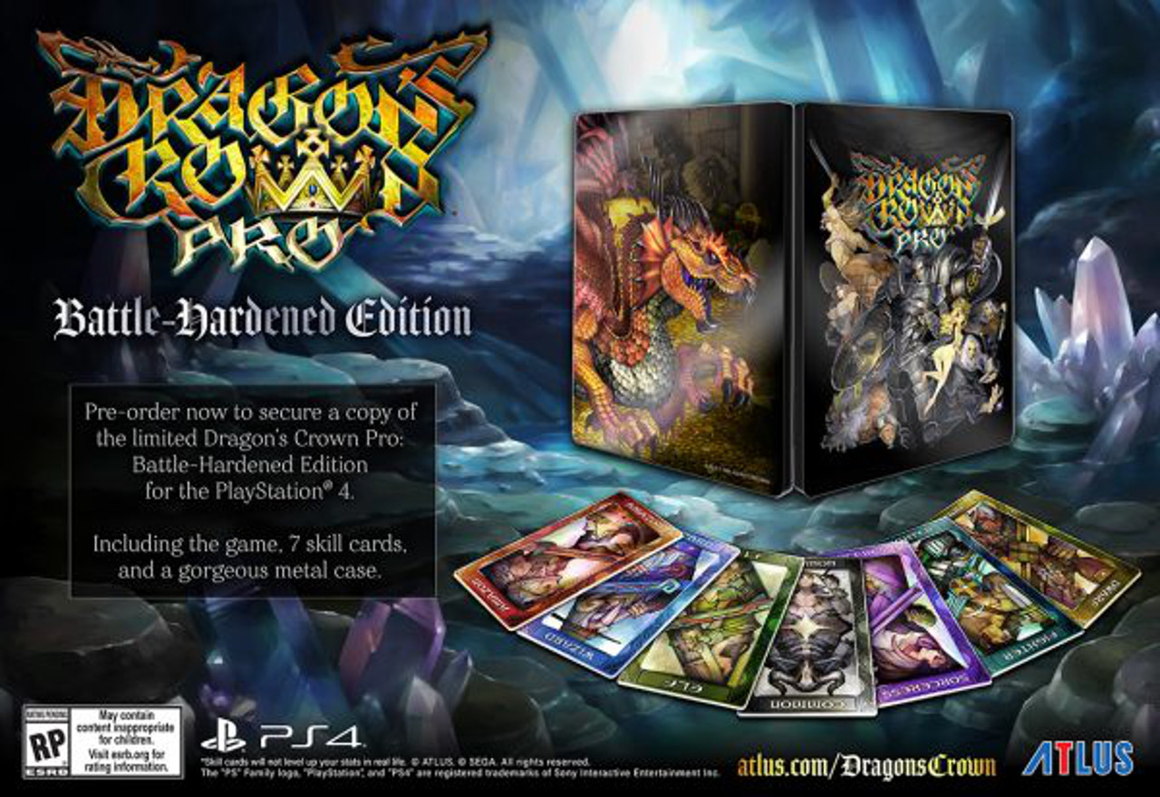 Dragon's Crown Pro: annunciata la Battle-Hardened Edition per l'America