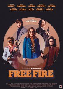 Free Fire immagine Cinema locandina