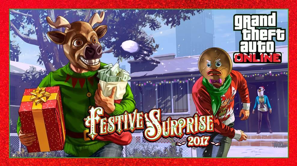 GTA Online Sorpresa Festiva 2017