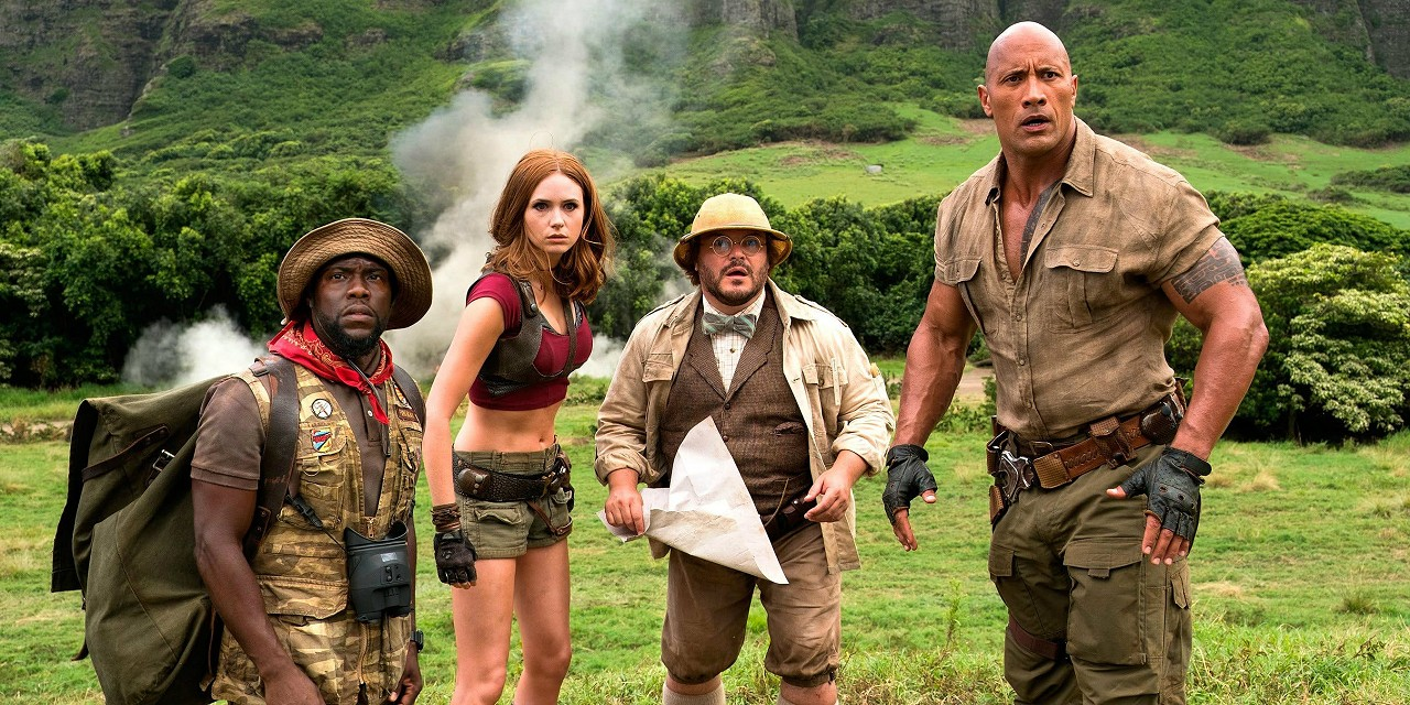 Jumanji batte Star Wars L'Ultimo Jedi al Box Office americano