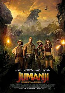 Jumanji Benvenuti nella giungla immagine Cinema locandina